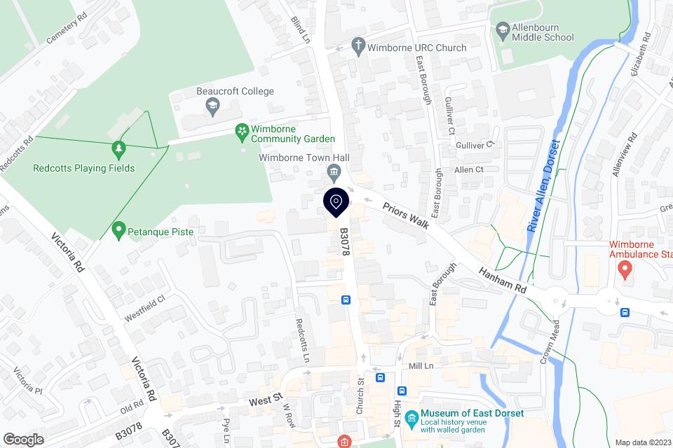 19 West Borough, Wimborne BH21 1LT, Wimborne, BH21 1LT map