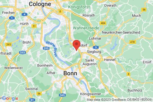 Karte Troisdorf