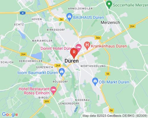 Google Karte von Rohrreinigung Düren