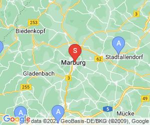 Karte für AquaMar Marburg