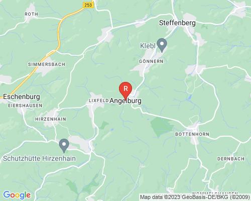 Google Karte von Rohrreinigung Angelburg