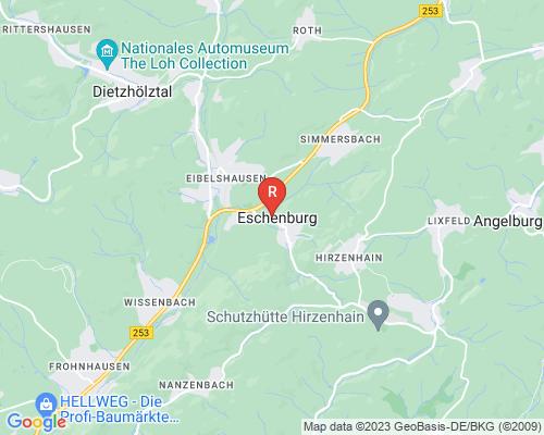 Google Karte von Rohrreinigung Eschenburg
