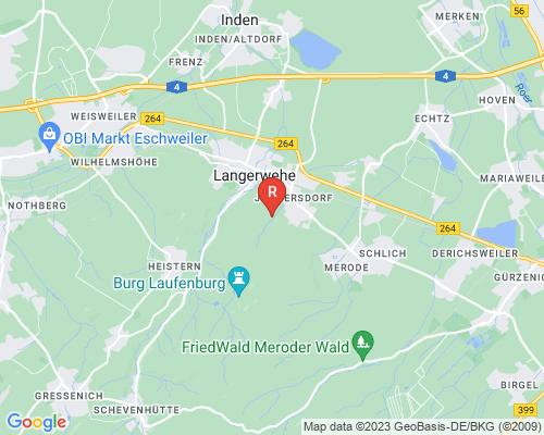 Google Karte von Rohrreinigung Langerwehe