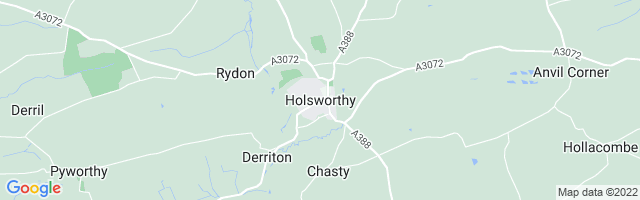 Map Of Holsworthy