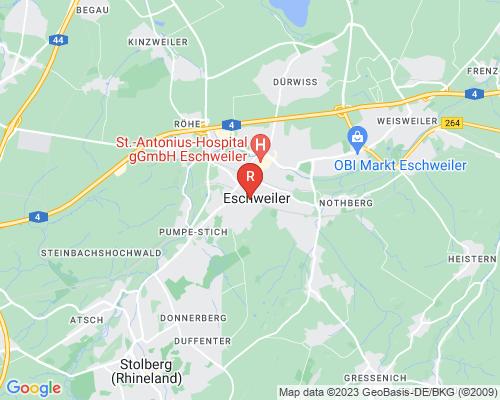 Google Karte von Rohrreinigung Eschweiler