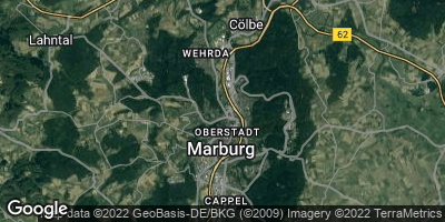 Google Map of Marburg