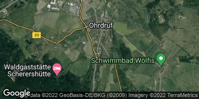 Google Map of Ohrdruf