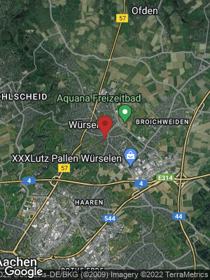 Google Map of Würselen