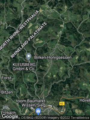 Google Map of Birken-Honigsessen