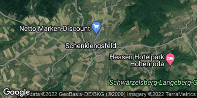 Google Map of Schenklengsfeld