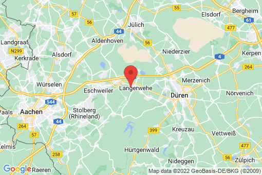 Karte Langerwehe