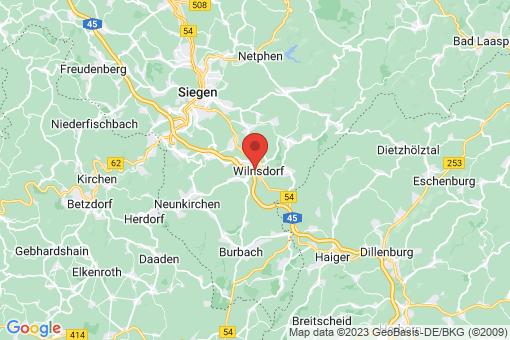 Karte Wilnsdorf
