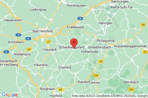 Karte Schenklengsfeld