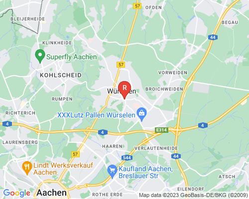 Google Karte von Rohrreinigung Würselen
