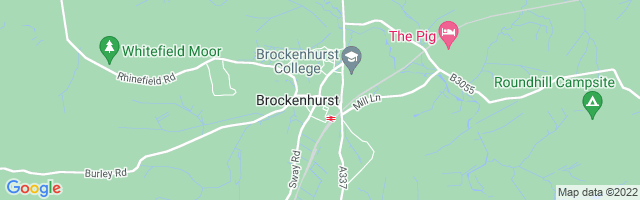 Map Of Brockenhurst
