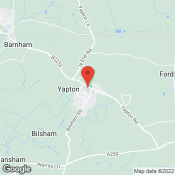 Map of The Co-operative Food Yapton, Main Road at Main Road, Arundel, West Sussex BN18 0EY