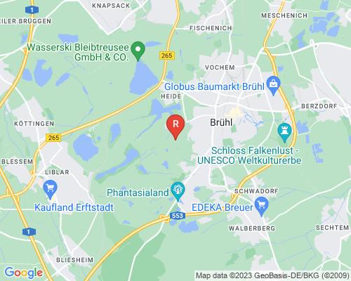 Google Karte von Rohrreinigung Brühl