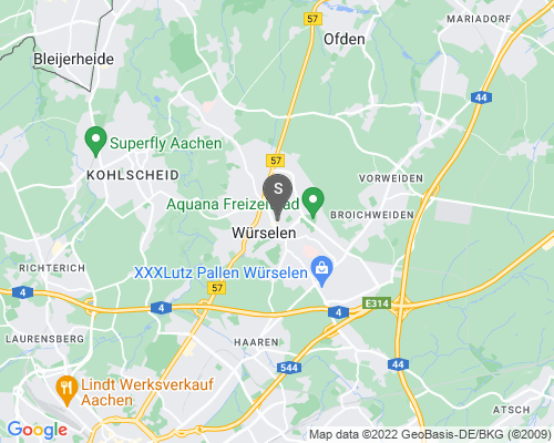 Google Karte von Schlüsseldienst Würselen