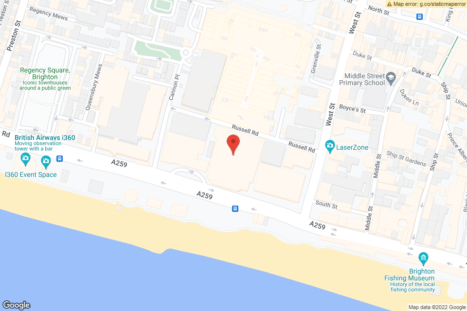 King's Rd, Brighton, BN1 2GR map