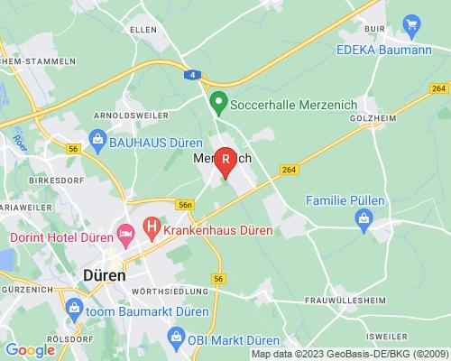 Google Karte von Rohrreinigung Merzenich