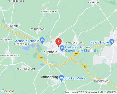 Google Karte von Rohrreinigung Kirchhain