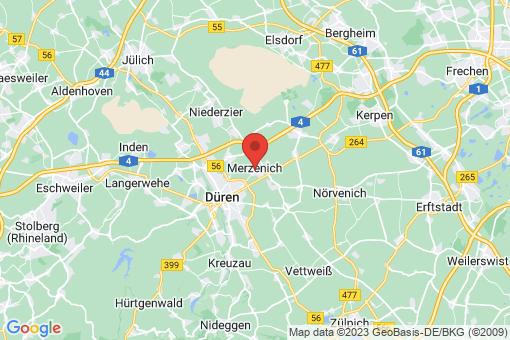 Karte Merzenich