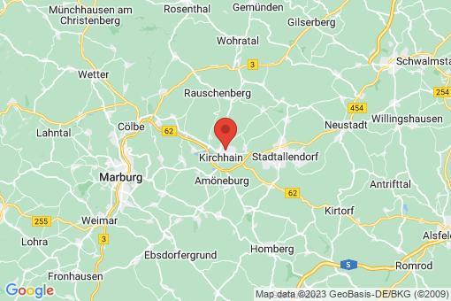 Karte Kirchhain