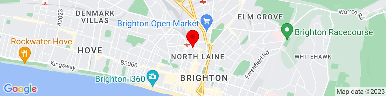 Google Map of 50.82838, -0.13947