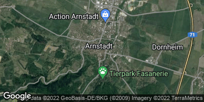Google Map of Arnstadt
