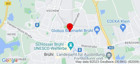 Google Map für Ferienwohnung Familie Bauwe