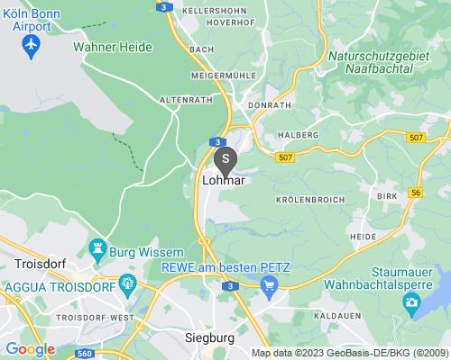 Google Karte von Schlüsseldienst Lohmar
