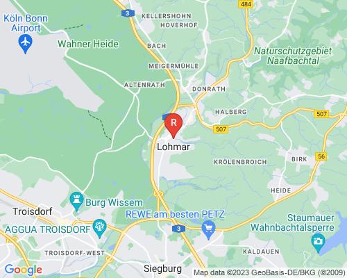 Google Karte von Rohrreinigung Lohmar