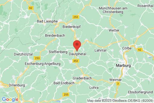 Karte Dautphetal
