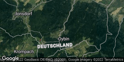 Google Map of Kurort Oybin