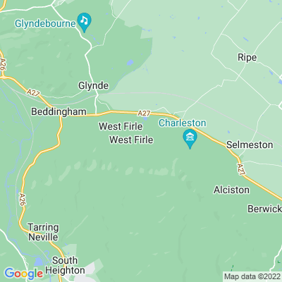 Firle Place Location