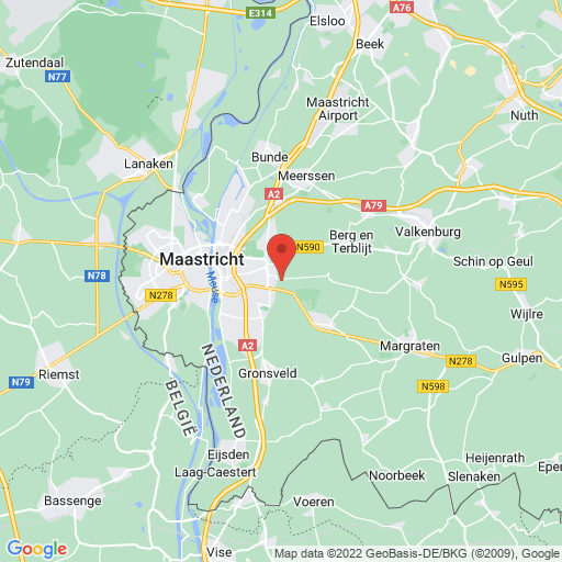 Girls Cup Maastricht map