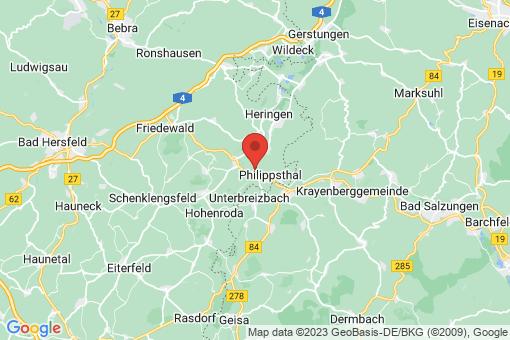 Karte Philippsthal (Werra)