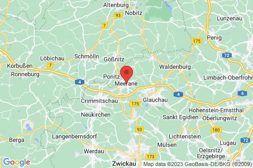 Karte Meerane