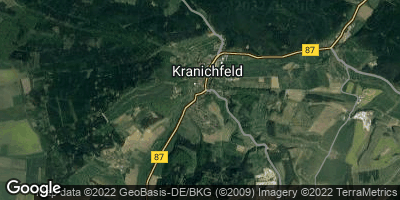 Google Map of Kranichfeld