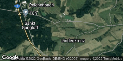 Google Map of Sankt Gangloff
