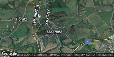 Google Map of Meerane