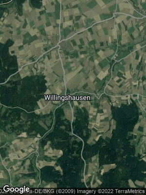 Google Map of Willingshausen