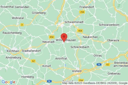 Karte Willingshausen