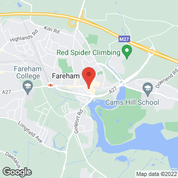 Map of wilko Fareham at Market Quay Shopping Centre, Fareham,  PO16 0JN
