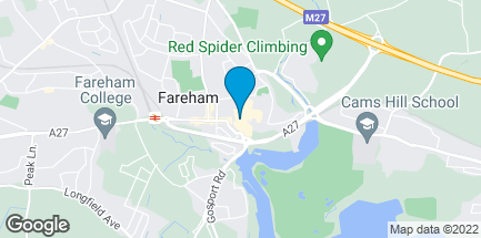 Map of 89 West Street in Fareham