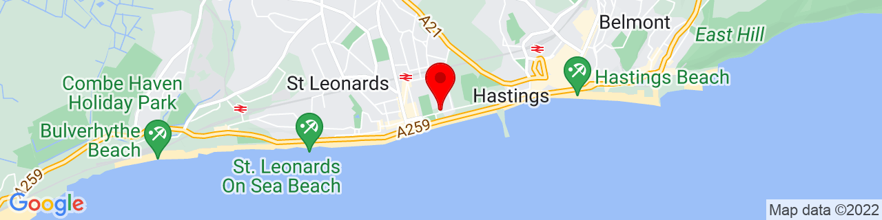 Google Map of 50.85305555555556, 0.5647222222222222