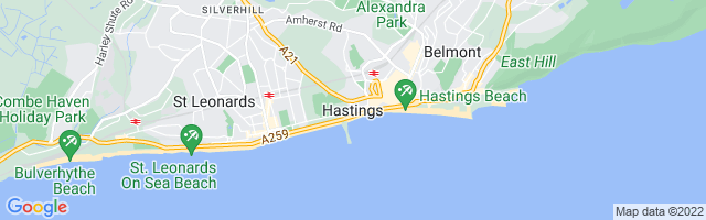 Map Of Hastings