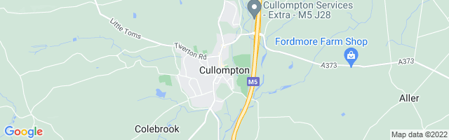 Map Of Cullompton