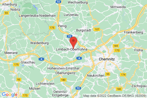 Karte Limbach-Oberfrohna
