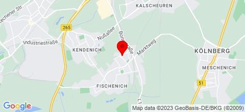 Google Map für Zimmervermietung R. Döring